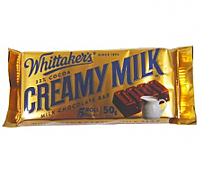 Whittaker's Creamy Milk Slab 50g